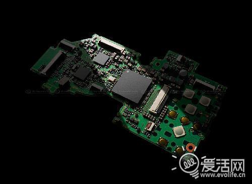 lx5电路板细节