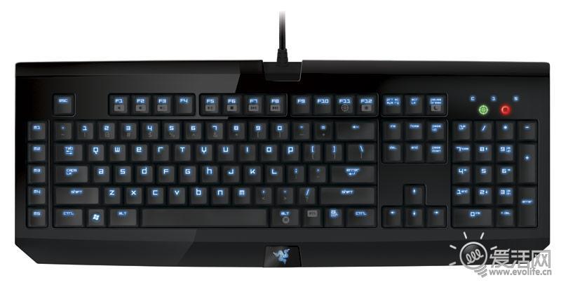 雷蛇blackwidow键盘发布 闪亮亮 很漂亮