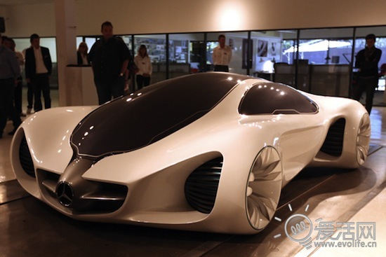 自己长大的汽车 梅赛德斯-奔驰biome概念车亮相