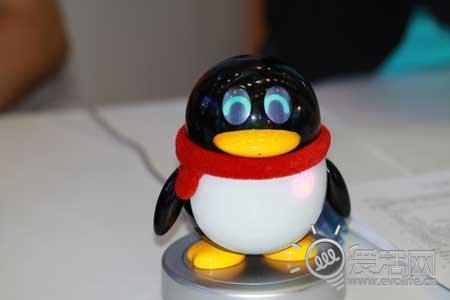 qq企鹅走出屏幕啦! 腾讯小q机器人仔细看