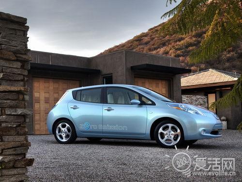 节能新时代 首辆日产聆风电动车交付用户高清图片