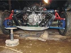 可怕的技术宅 国外强人自制迈凯轮 f1图片