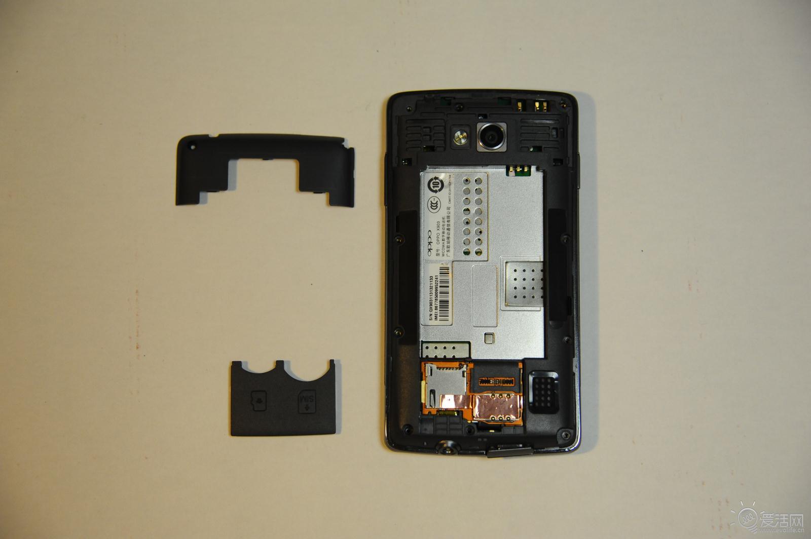 oppo find x903手机全面拆解