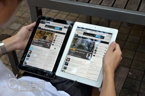 3分钟和30天的故事 Galaxy Tab 10.1 vs iPad2