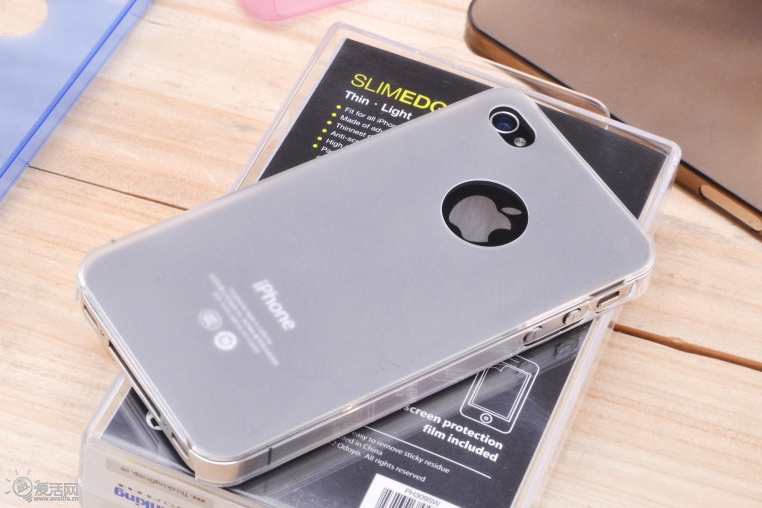 iphone音量键松动_若隐若现迷人眼 ODOYO Slim Edge iPhone4S保护套试玩 - 推酷