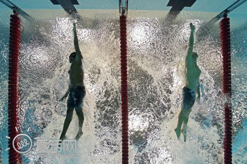 别样角度观奥运 泳池底摄像头发推分享独特视角