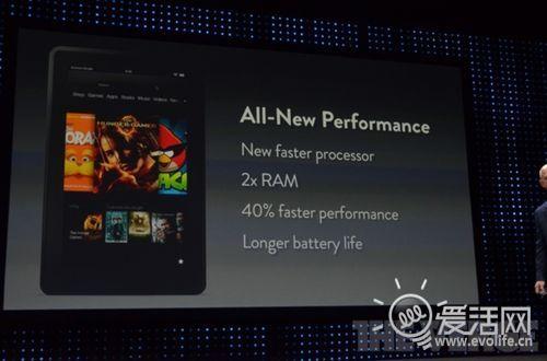 亚马逊公布7英寸Kindle Fire平板 Nexus 7棋逢对手