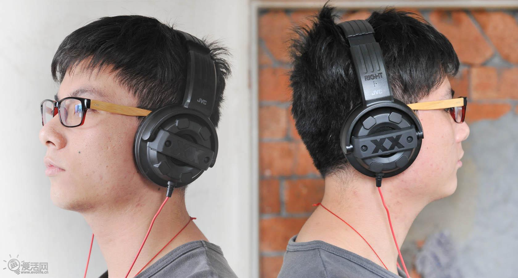 街头 霸气 耳机/重磅机车霸气外露JVC M5X街头耳机试玩