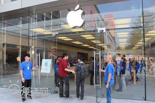 南国苹果a苹果时深圳益田苹果广场商店内部探安卓反下拉编译分双页图片