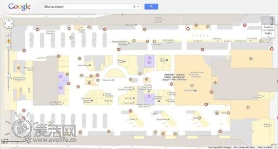 桌面版谷歌地图室内导航功能降临 覆盖楼层范围过万