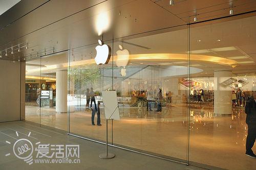 南国手机a手机时深圳益田广场小米苹果内部探苹果商店三段式图片