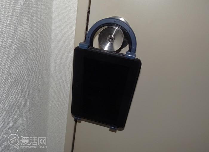 门把手挂钩型平板电脑支架开卖