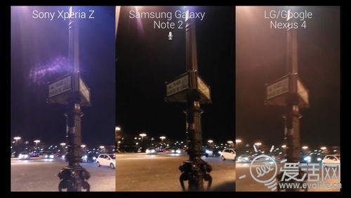 索尼Xperia Z夜拍对比测试:狂胜Nexus 4、Note2