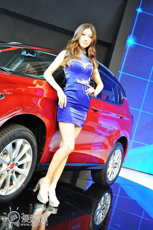福利喜闻乐见 2013上海车展Showgirl一览