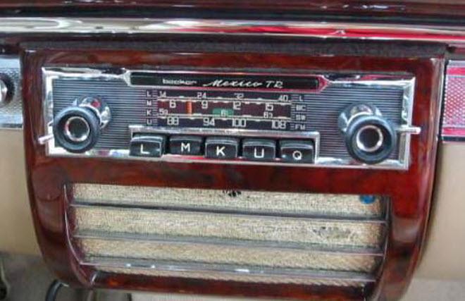 老式的车载收音机就如同当年的软盘一般,已经显得有些力不从心.