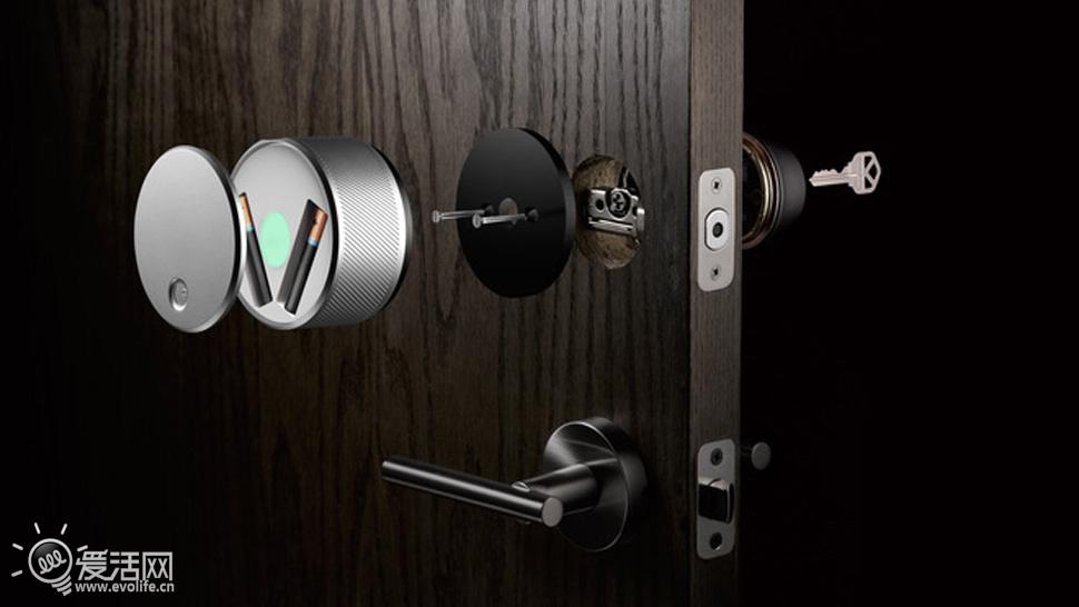 iphone当钥匙 国外设计师推出august蓝牙智能门锁