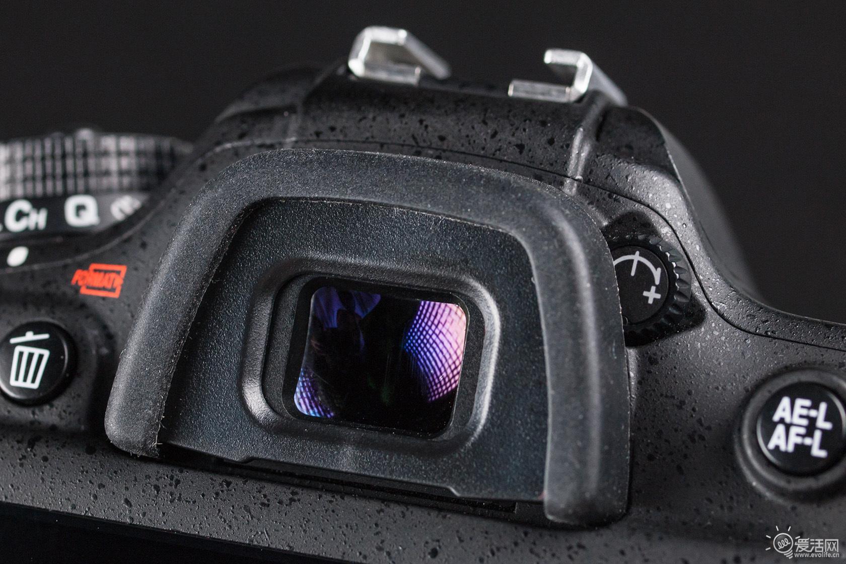 尼康d7100单反相机上手玩