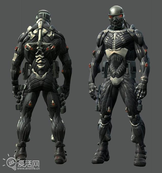 求钢铁侠盔甲设计图展示