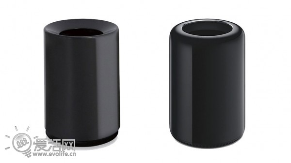 """数月前的WWDC 2013大会上,苹果的新一代Mac Pro亮相瞬间,台下即响起雷鸣般的掌声,但相信各位熬夜观看直播的同学心头蹦出的都是同一个词儿:""""我靠,这不是我家那个垃圾桶么?苹果终于没忍住向家庭清洁用品市场下手了!""""  言归正传,配置了英特尔至强E5十二核心处理器以及双FirePro专业卡的新一代Mac Pro性能十分强悍,除此之外其垃圾桶形状的外观、一体化的内部散热系统设计可谓是最大的卖点。不过,要将这些硬件放进只有垃圾桶大小空间的新Mac Pro里是有一定难度的,这绝对需"""