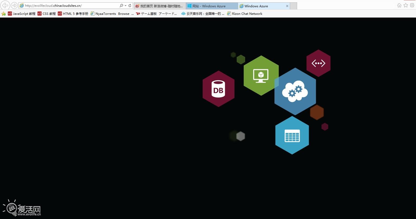 azure sdk网络安装包,配合webmatrix来一个搭建wordpress博客站点.