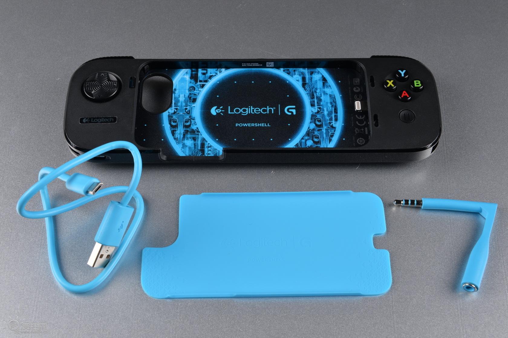"""以iphone""""游戏机""""之名 罗技g550掌游控手柄试玩"""