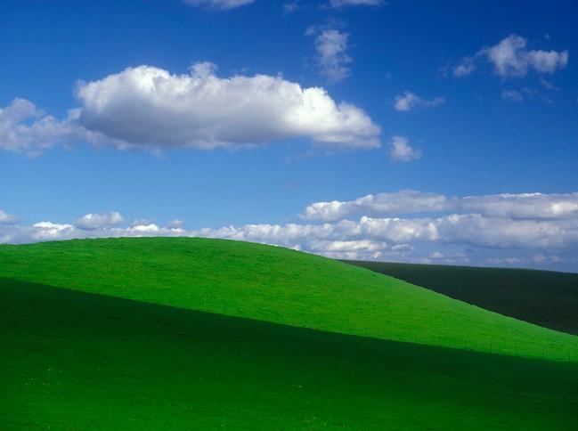 那片蓝天白云绿草地还在吗?