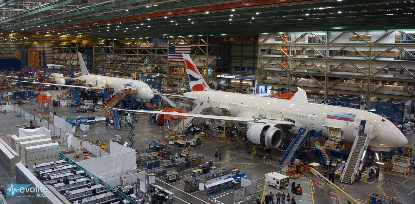 再加50个座位 波音787-9变身就完成了