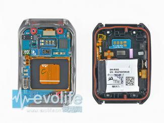 Android Wear智能手表里面长啥样?拆开表壳仔细看