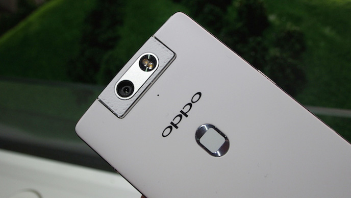 电动旋转摄像头都给做出来了,还有什么是OPPO不能做的?