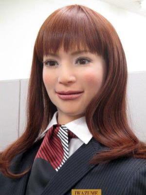 日本人民脑洞大 机器人美女也要当酒店前台