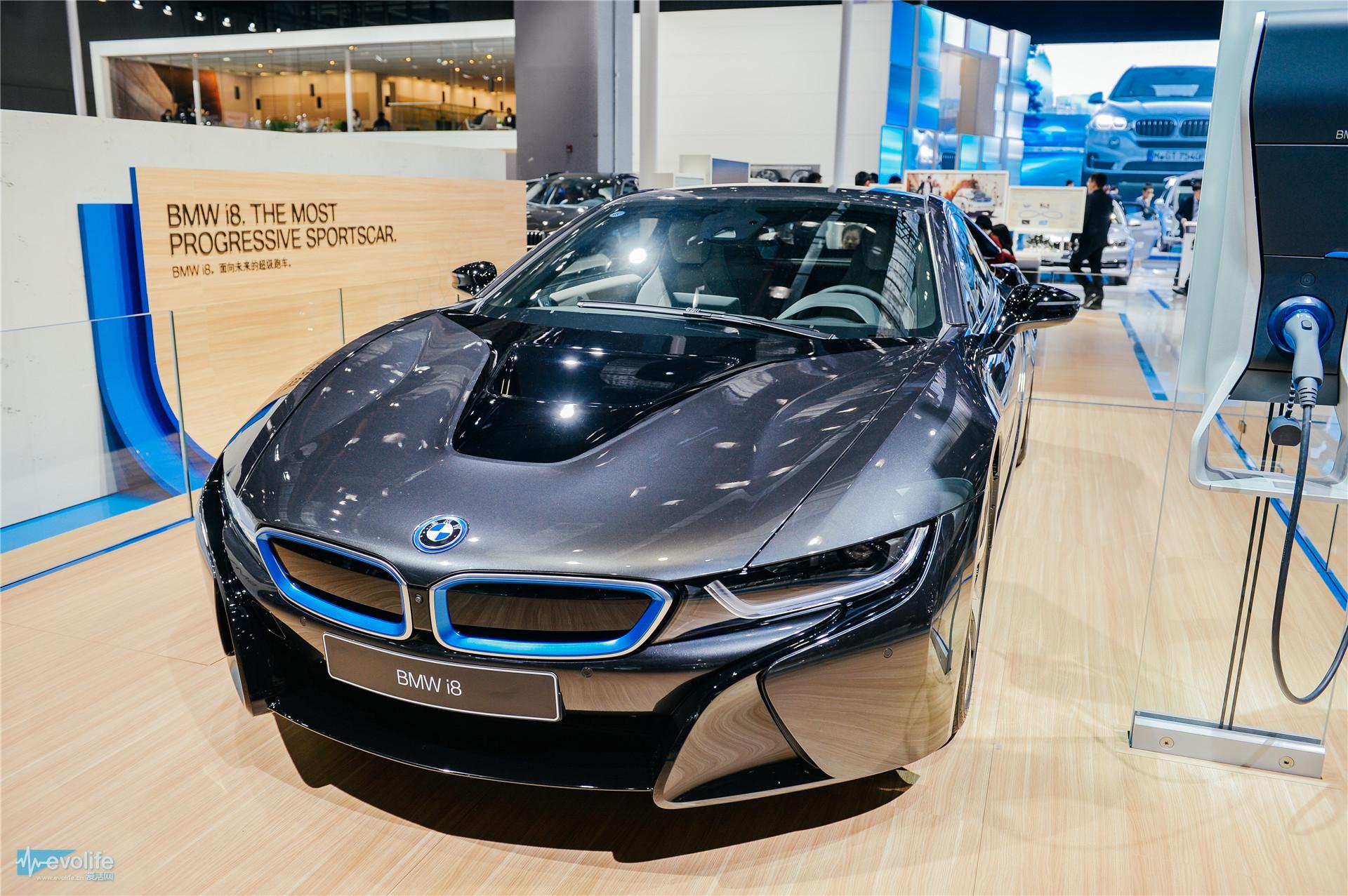 【2015上海车展】宝马展台一览 混合动力edrive x5登场
