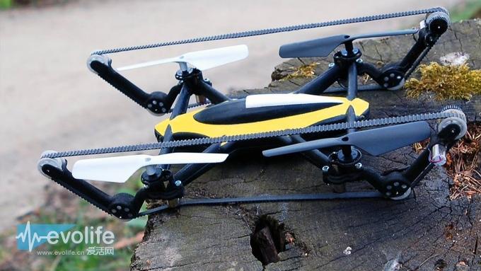 飞机 来看看这款能在地上跑也能在天上飞的无人机