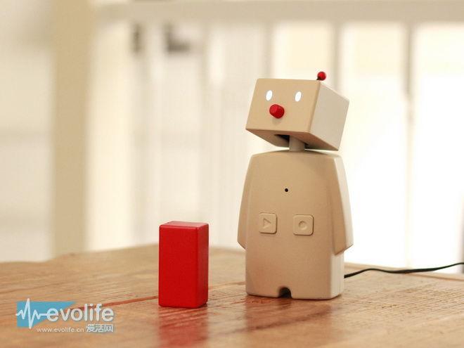 别小看bocco是个呆萌的机器人 它可以帮你监视房间