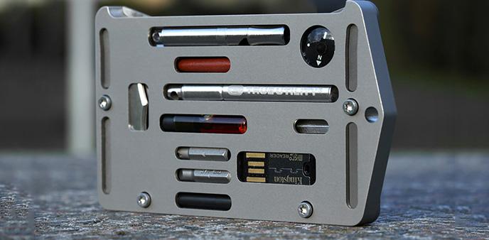 这是男人的浪漫 Jackfish让信用卡包和生存工具合二为一