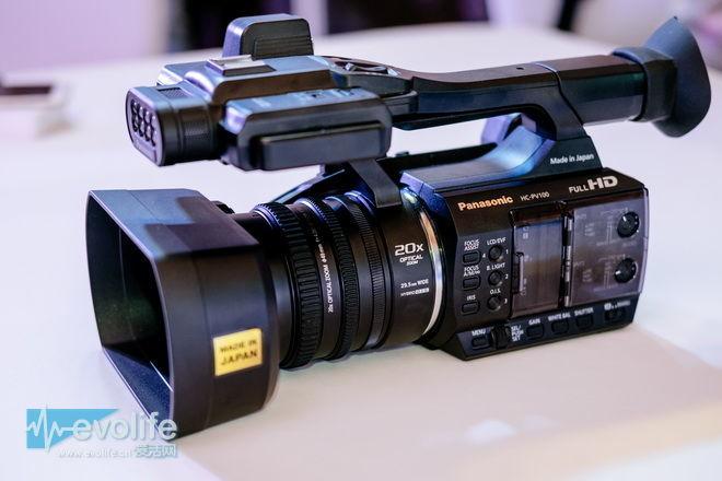 以大光圈大变焦为剑 松下HC-PV100摄像机要打进婚礼当中