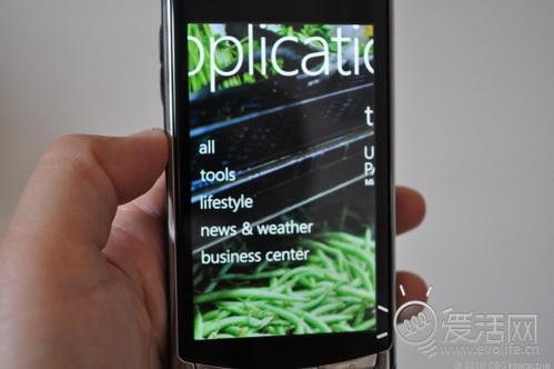 Windows Phone 7界面
