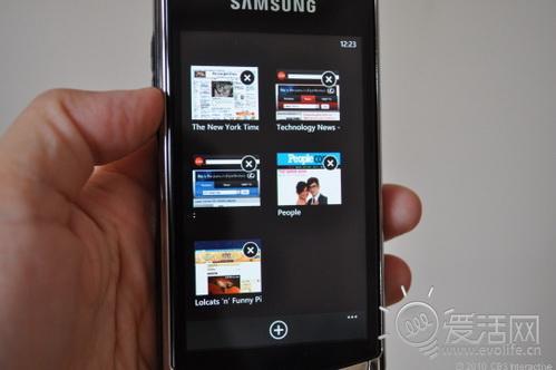 Windows Phone 7多媒体界面