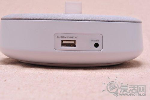 飞利浦底座DS1100带有USB充电接口