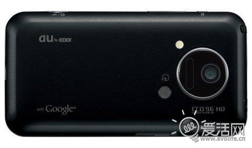 日系视网膜屏幕来了:夏普发布IS03手机