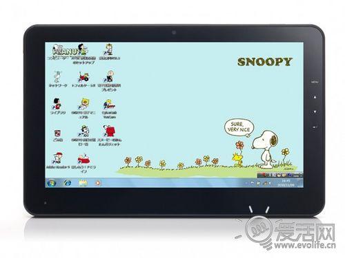 Snoopy入住电脑 安桥Windows平板主打卡通风