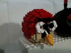 方块砖的浪漫 愤怒小鸟乐高实体版登场