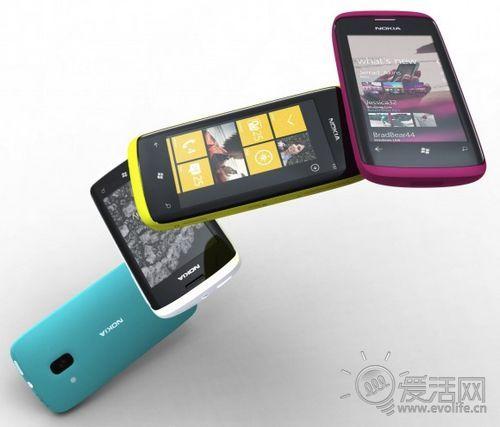 总有一款适合你 诺基亚首发4款WP7手机细节来了