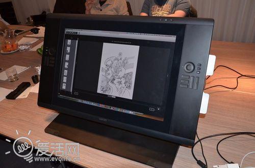 指点江山的疯狂:Wacom Cintiq 24寸画板显示器出炉
