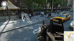 这才是真实战场 用谷歌街景玩游戏射击游戏
