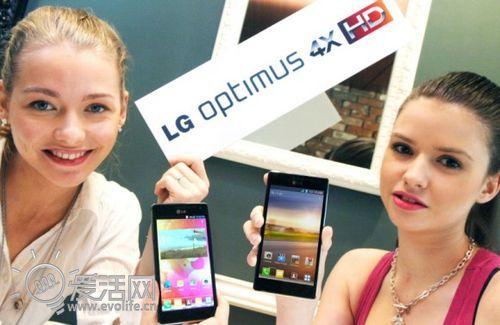 LG真正的王牌 Optimus 4X HD携四核月底重装亮相