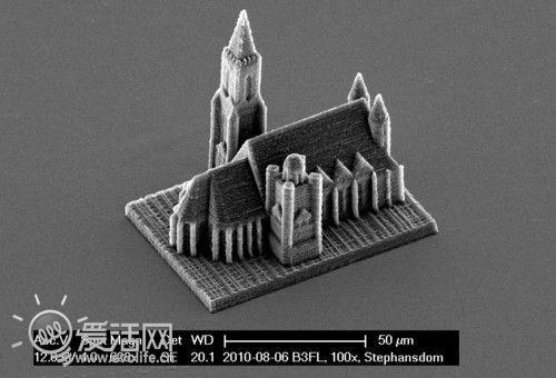 维也纳大学使用3D打印机雕刻出世界上最小的F1赛车