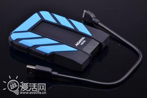 威刚HD710三防移动硬盘试用