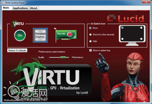 ThunderBolt牵手Windows 微星Z77A-GD80主板雷电接口实测