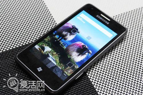 三星首款Windows phone手机S7530体验