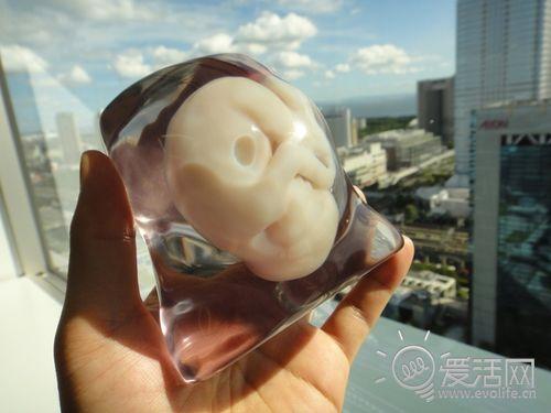 提前见父母 日本公司提供3D打印胎儿服务